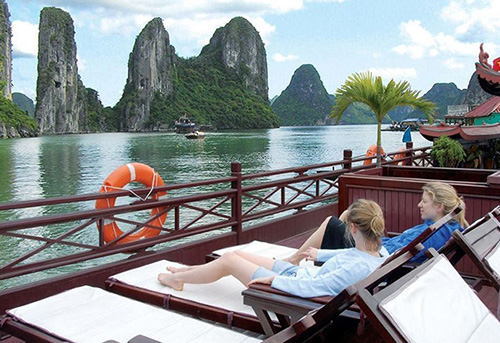 Relax in Halong Bay