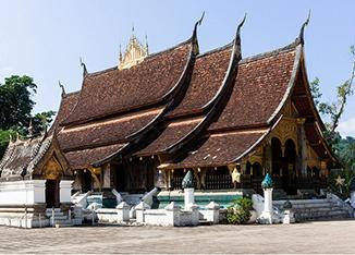 Temple Luang Phrabang