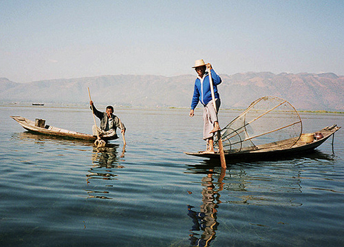 Fisherman Inle Lake Burma
